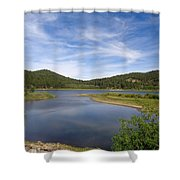 Spooner Lake Shower Curtain