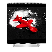 Spoonship Shower Curtain