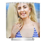 Sport And Exercise Shower Curtain