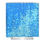 Spotted Canvas  Shower Curtain