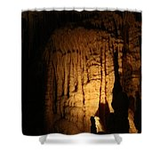 Spotted Growth - Cave Shower Curtain