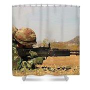 Spotter Shower Curtain