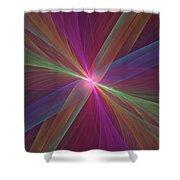 Spread Shower Curtain
