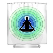 Spread The Inner Light Shower Curtain