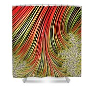 Spreading Roots Shower Curtain
