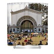 Spreckels Organ Pavilion Concert - San Diego Shower Curtain