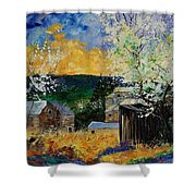 Spring 45 Shower Curtain