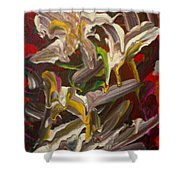 Spring Abstract  -026 Shower Curtain