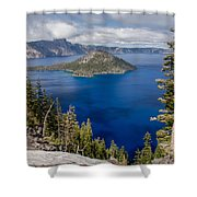 Spring Afternoon From Discovery Point Shower Curtain