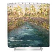 Spring Along Captina Shower Curtain