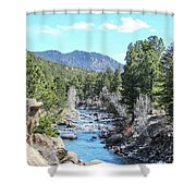Spring Along The Arkansas Shower Curtain
