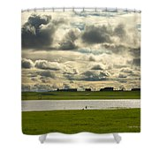 Spring Along The Shubenacadie River Shower Curtain