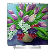 Spring As A Gift Shower Curtain
