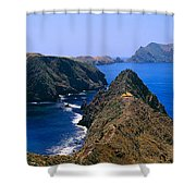 Spring At Anacapa Island, Channel Shower Curtain