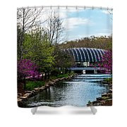 Spring At Crystal Bridges Shower Curtain