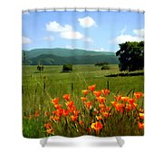 Spring At Gainey Ranch Shower Curtain