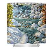 Spring At Last By Richard Pranke Shower Curtain