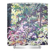Spring At Maymont Shower Curtain