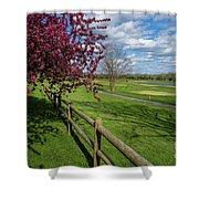Spring At Rivercut Shower Curtain