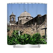 Spring At The Mission Shower Curtain