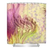 Spring Awaits Shower Curtain