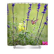 Spring Beauties In The Garden Shower Curtain