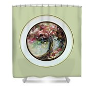 Spring Blossoms 2nd Version Shower Curtain