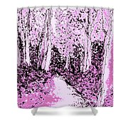 Blossoms  Of Life  Shower Curtain