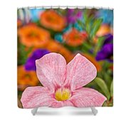 Spring Bouquet Shower Curtain by Louis Rivera