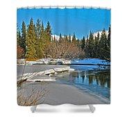 Spring Break Shower Curtain