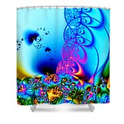 Spring Breezes Shower Curtain