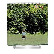 Spring By Heart Shower Curtain
