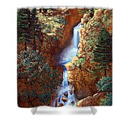 Spring Cascade Shower Curtain
