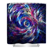 Spring Caught In The Maelstrom Shower Curtain