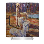 Spring Celebration - Mothers And Child Shower Curtain