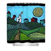 Spring Comes To The Valley Shower Curtain
