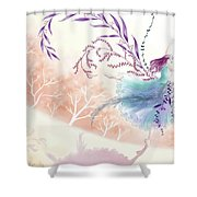 Spring Dance Shower Curtain