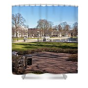 Spring Day At The Park Shower Curtain
