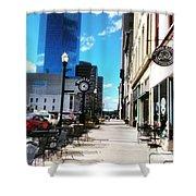 Spring Day In Downtown Lexington, Ky Shower Curtain by Rachel Maynard