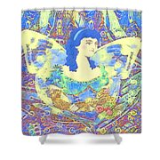 Spring Dreaming Shower Curtain