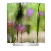 Spring Dreams Abstract Shower Curtain