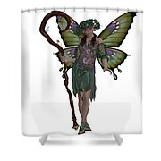 Spring Fairy Shower Curtain
