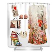 Spring Fantastic Shower Curtain