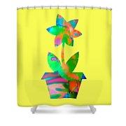 Spring Fever Shower Curtain