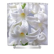 Spring Fiancee Shower Curtain