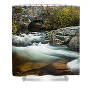 Spring Flow At Eagle Creek Shower Curtain