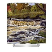 Spring Flow Shower Curtain