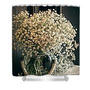 Spring Flower Arrangement Shower Curtain