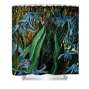 Spring Flower Shower Curtain