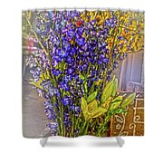 Spring Flowers For Sale Shower Curtain